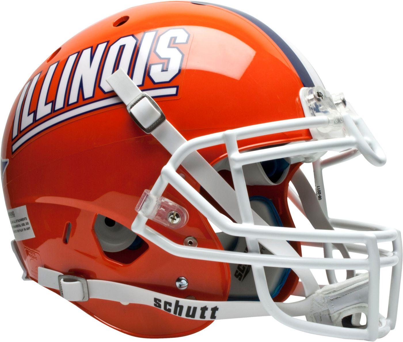 Schutt Illinois Fighting Illini XP Authentic Football Helmet