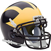 Schutt Michigan Wolverines Mini Authentic Football Helmet