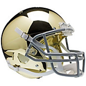 Schutt Notre Dame Fighting Irish Chrome Mini Replica Football Helmet