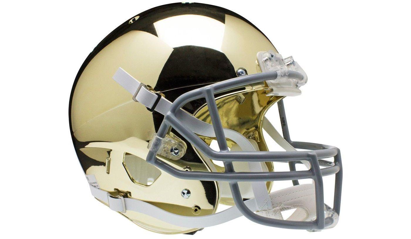 Schutt Notre Dame Fighting Irish Chrome Mini Replica Football Helmet