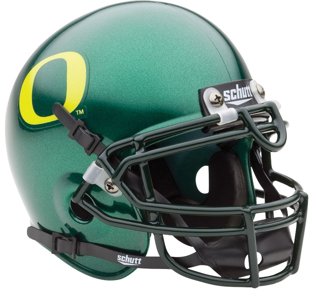outlet store af61e 27d20 Schutt Oregon Ducks Mini Authentic Football Helmet