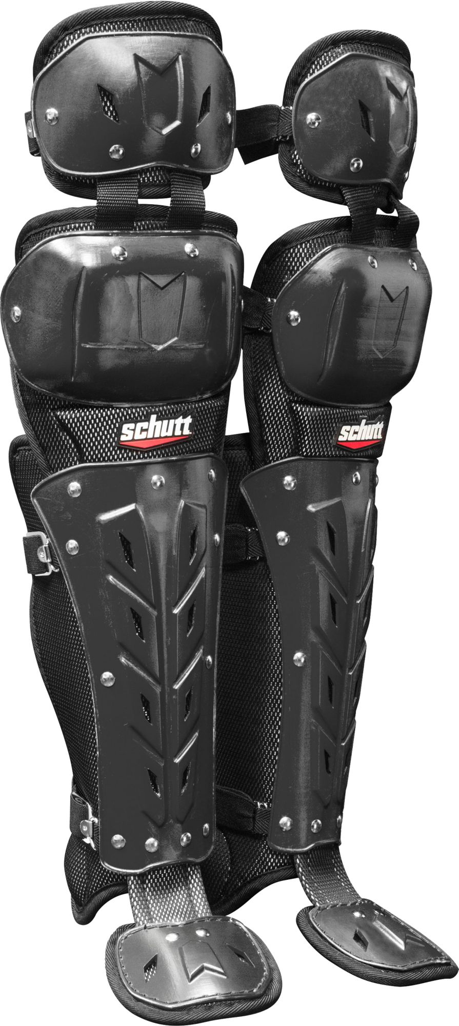Schutt Air Maxx Scorpion Double Knee Catchers Leg Guards
