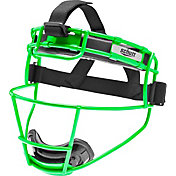 Schutt Varsity Softball Fielder's Mask in Neon Green