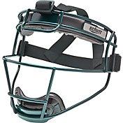 Schutt Varsity Titanium Softball Fielder's Mask in Dark Green