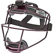 Schutt Varsity Titanium Softball Fielder's Mask in Maroon