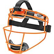 Schutt Varsity Titanium Softball Fielder's Mask in Neon Orange
