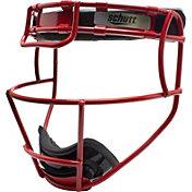 Schutt Varsity Titanium Softball Fielder's Mask in Scarlet Red