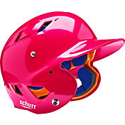 Schutt Youth Air 4.2 High Gloss Batting Helmet in Pink