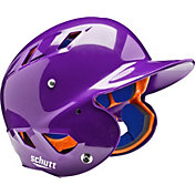 Schutt Youth Air 4.2 High Gloss Batting Helmet in Purple