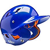 Schutt Youth Air 4.2 High Gloss Batting Helmet in Royal