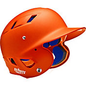 Schutt Youth 4.2 Matte Batting Helmet in Orange