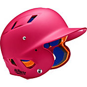 Schutt Youth 4.2 Matte Batting Helmet in Pink
