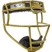 Schutt Youth Softball Glitter Fielder's Mask in Gold