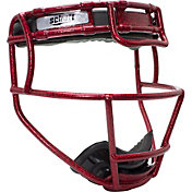 Schutt Youth Softball Glitter Fielder's Mask in Scarlet Red