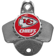 Kansas City Chiefs Wall Mount Bottle Opener