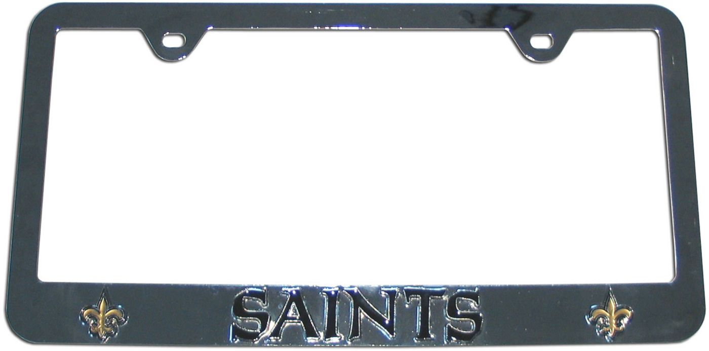 Siskiyou Gifts New Orleans Saints License Plate Frame