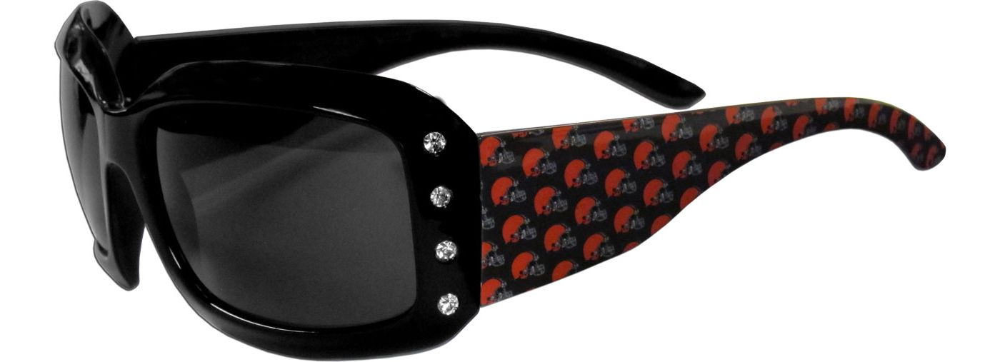 Cleveland Browns Women's Rhinestone Designer Sunglasses