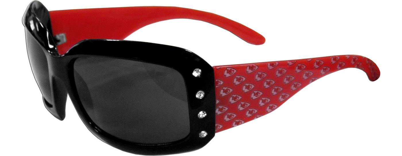 Kansas City Chiefs Women's Rhinestone Designer Sunglasses