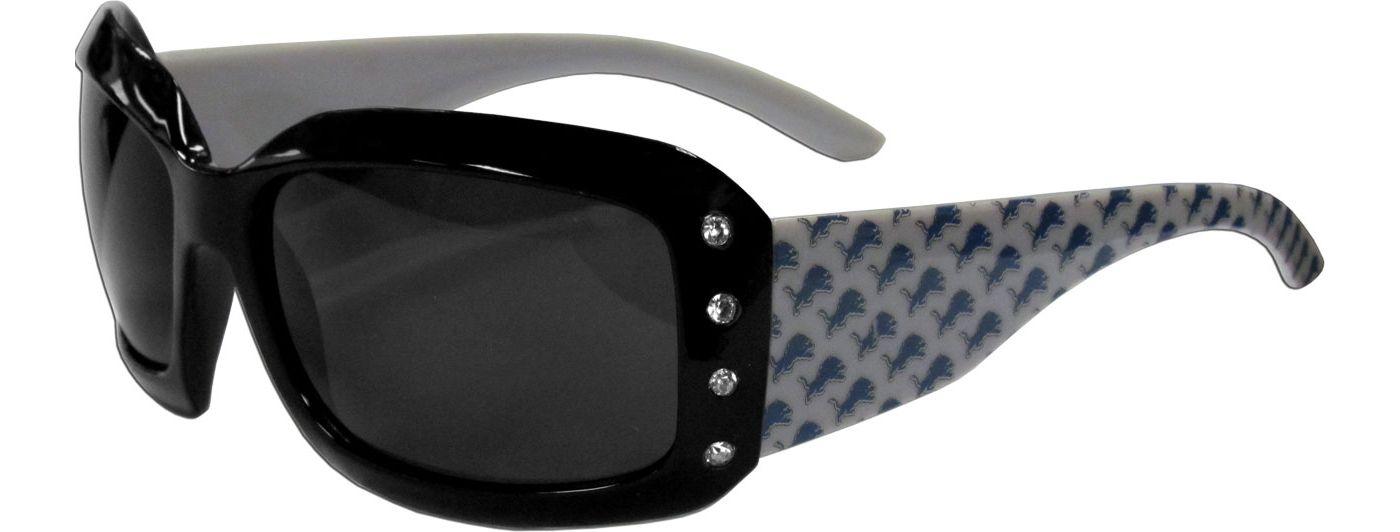 Detroit Lions Women's Rhinestone Designer Sunglasses
