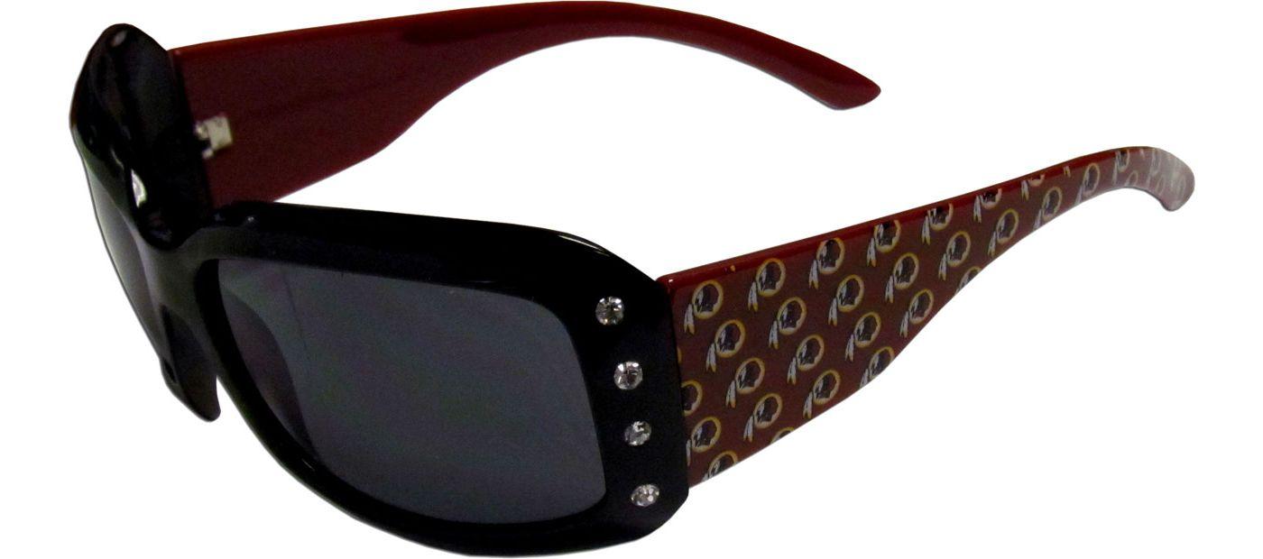Washington Redskins Women's Rhinestone Designer Sunglasses