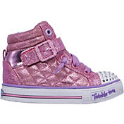 Skechers Toddler Twinkle Toes Shuffles Heart N Sole Shoes