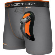 Shock Doctor Boys' Ultra Boxer Brief w/ Cup