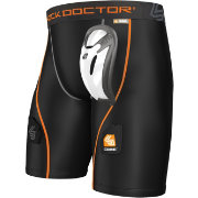 Shock Doctor Senior Core Hockey Shorts w/ Cup