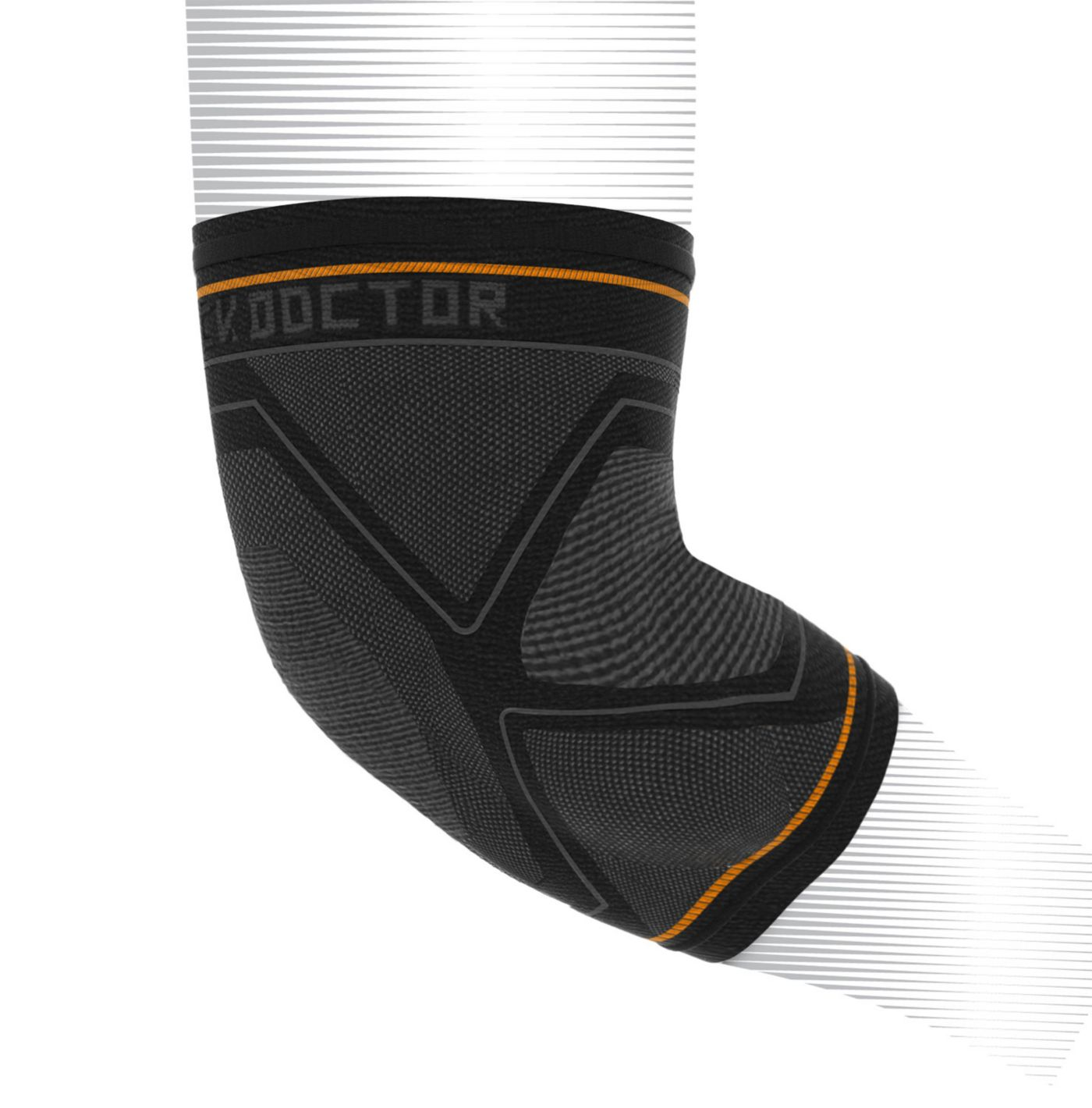Shock Doctor Compression Knit Elbow Sleeve w/ Gel Support