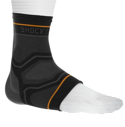 Shock Doctor Compression Knit Ankle Sleeve w/ Gel Support