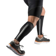 Shock Doctor Reflective Compression Calf Sleeves