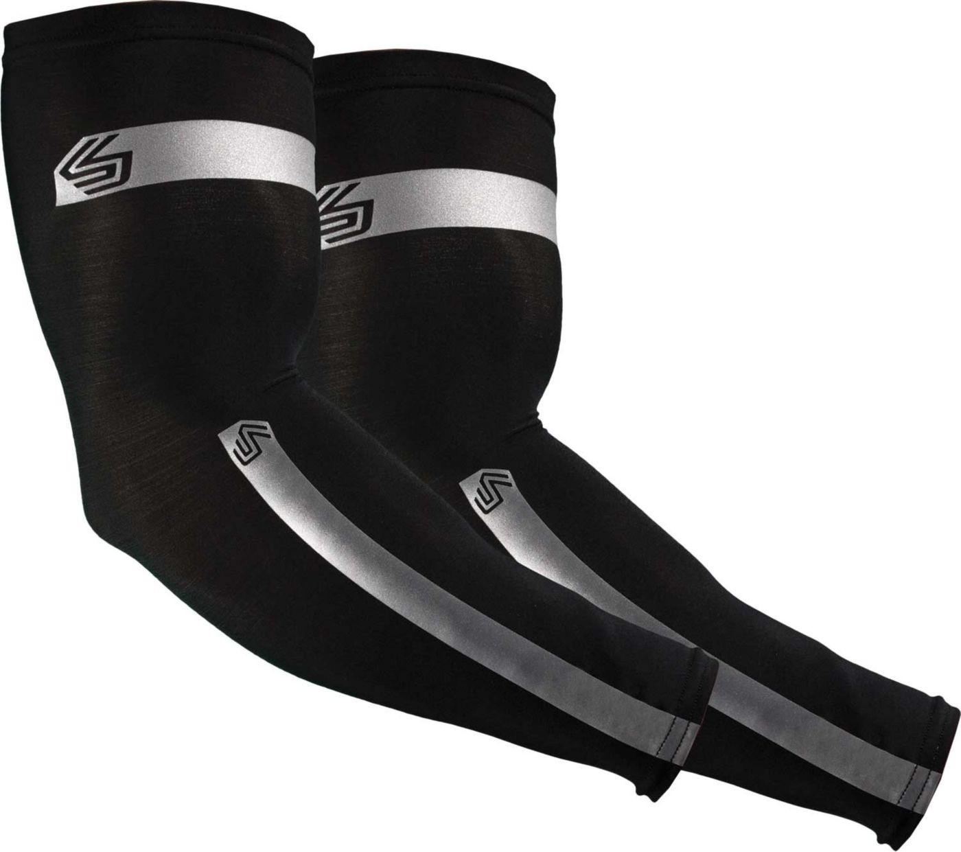 Shock Doctor Reflective Compression Arm Sleeves