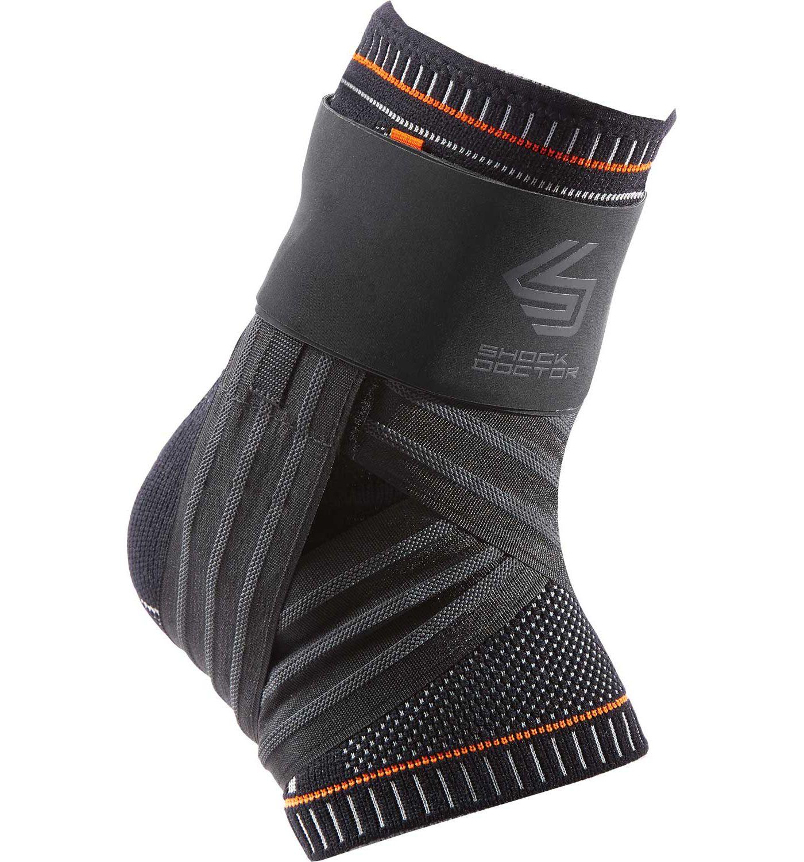Shock Doctor Ultra Knit Ankle Brace with Figure-6 Strap