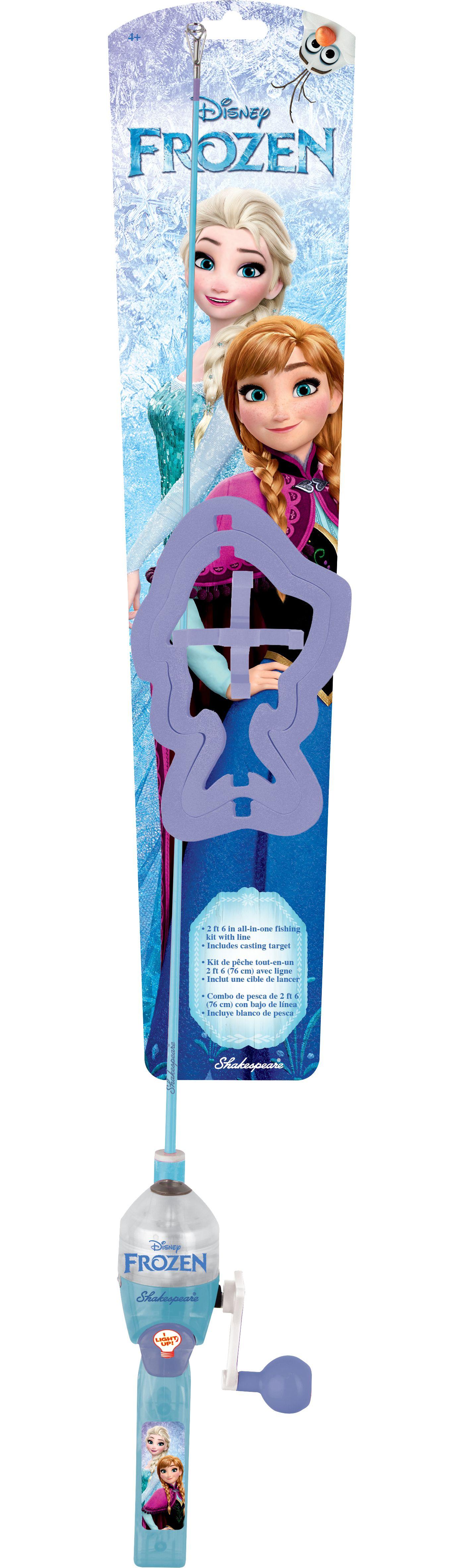 Shakespeare Disney Frozen Lighted Spincast Combo Kit