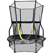 "Skywalker Trampolines 48"" Round Camo Mini Bouncer Trampoline with Enclosure"