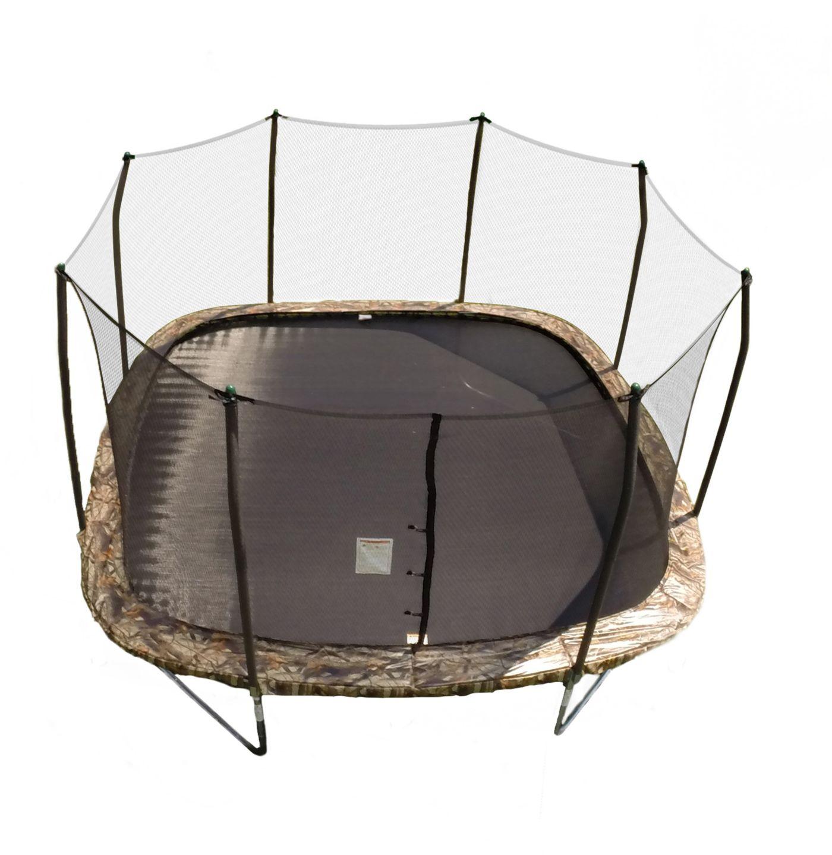 Skywalker Trampolines 14' Square Camo Trampoline with Enclosure