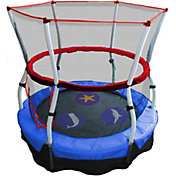"Skywalker Trampolines 60"" Seaside Adventure Bouncer Trampoline with Enclosure"