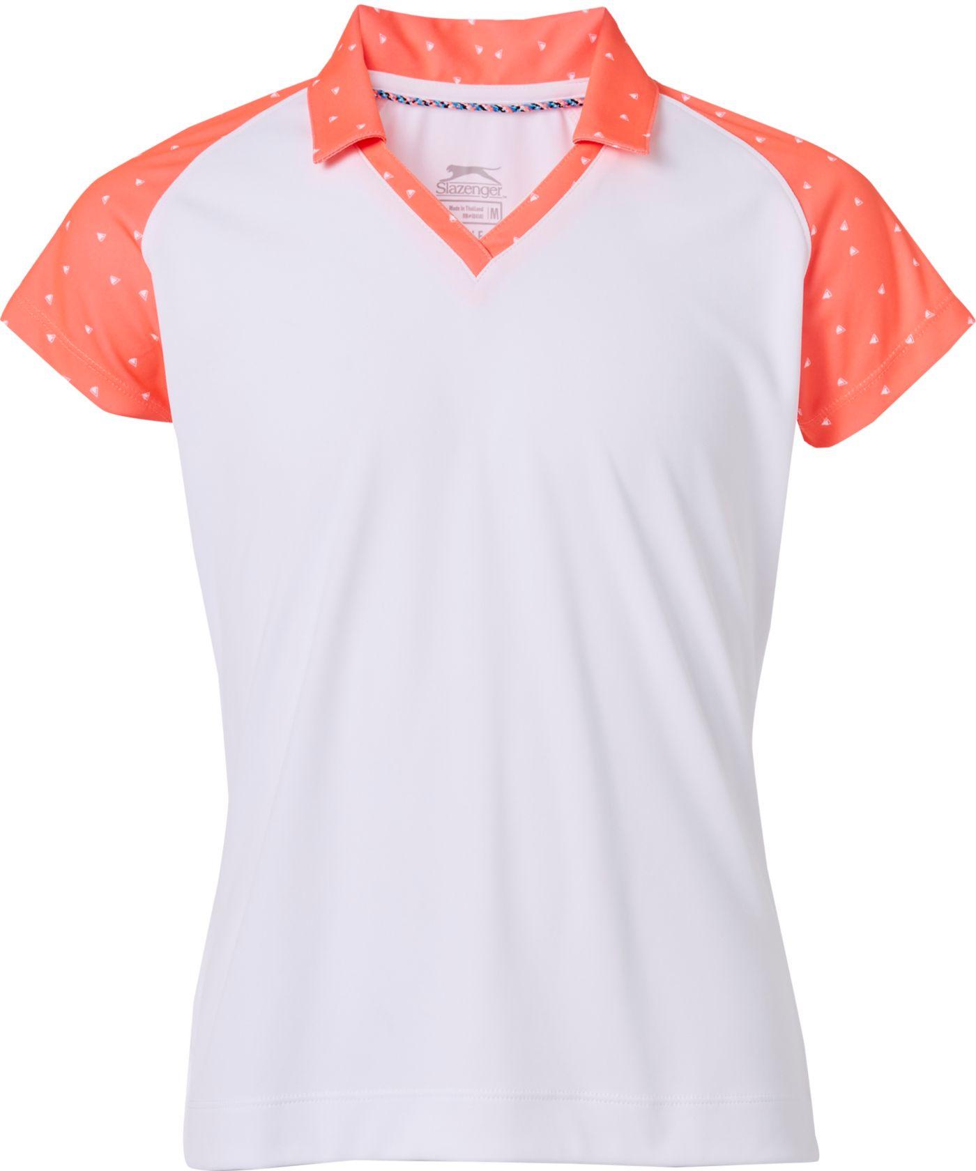 Slazenger Girls' Printed Polo