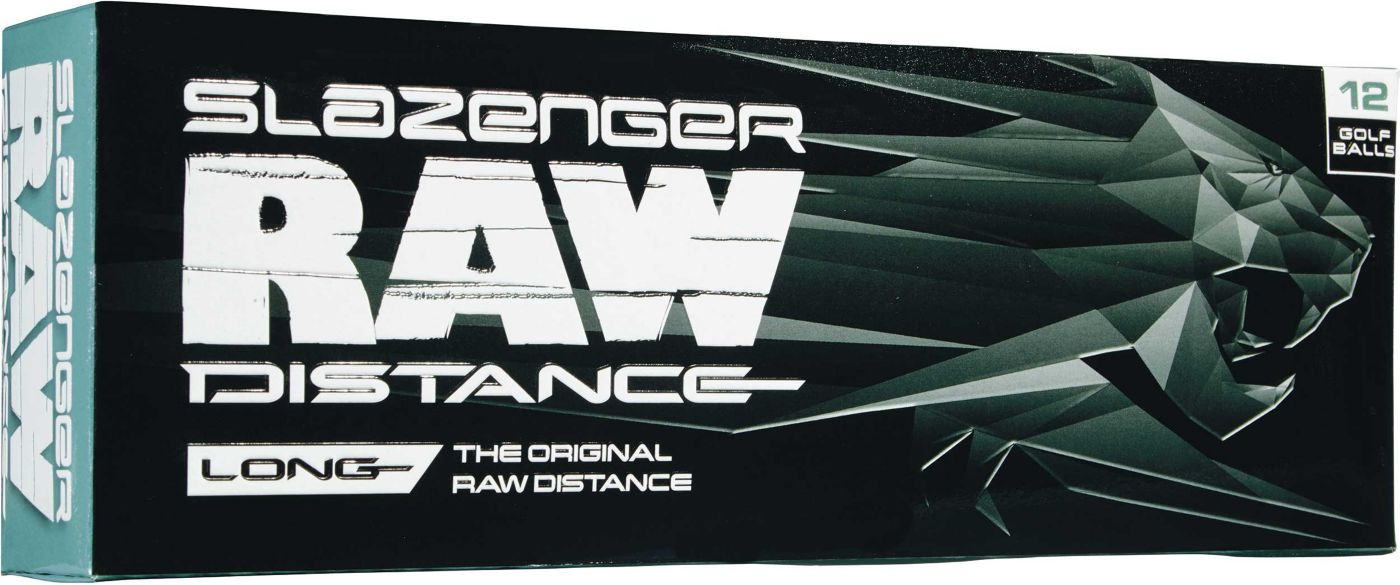 Slazenger 2017 Raw Distance Golf Balls