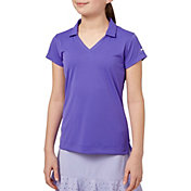 Slazenger Girls' Solid Golf Polo