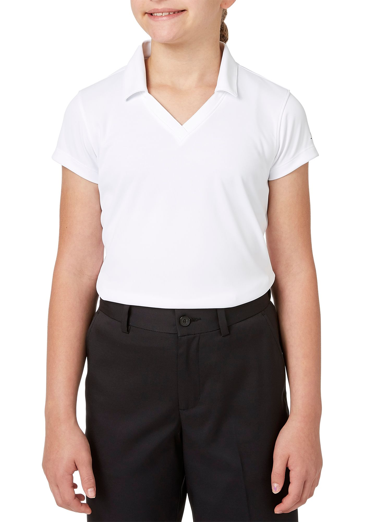 Slazenger Girls' Solid Polo