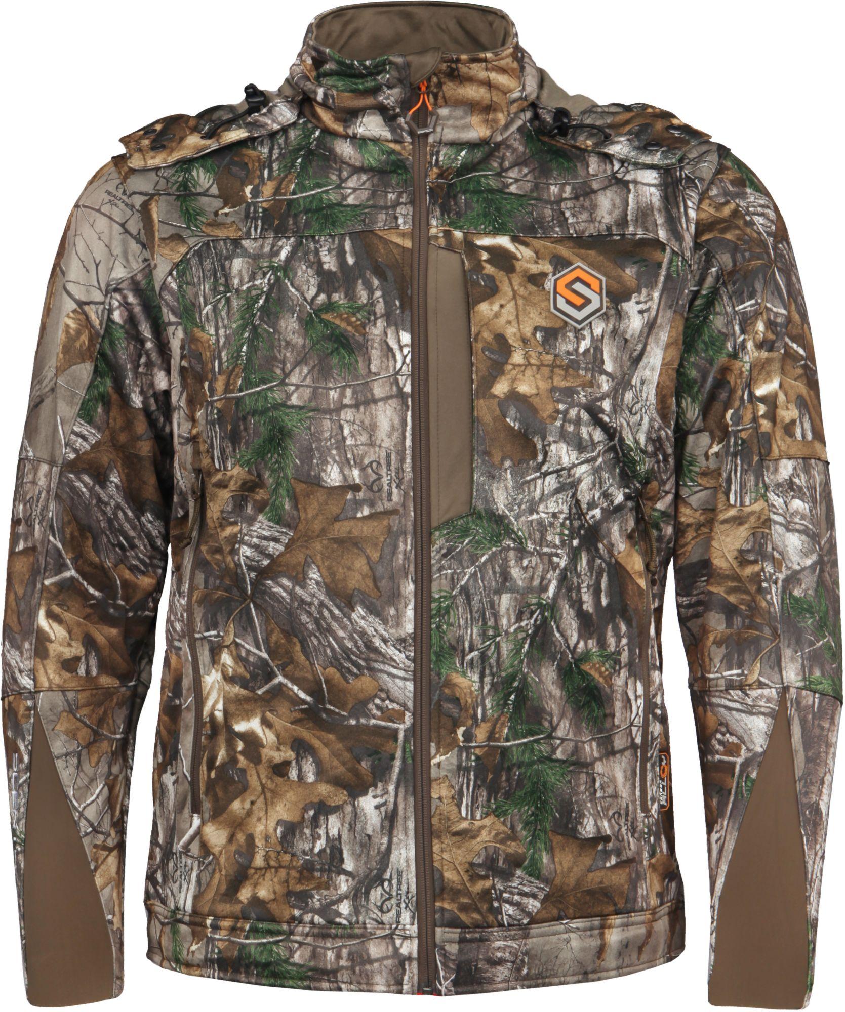 ScentLok Men's Helix Soft Shell Hunting Jacket, Size: Medium, Brown thumbnail
