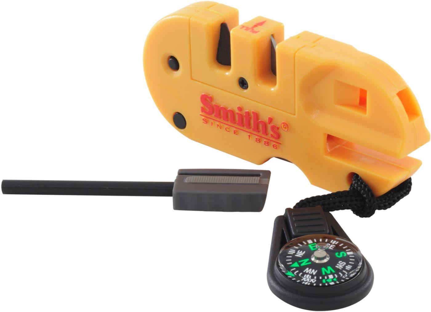 Smith's Pocket Pal X2 Knife Sharpener & Survival Tool