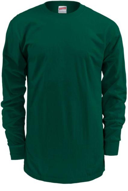 feb7862fca96cb Soffe Men s Midweight Cotton Long Sleeve Shirt