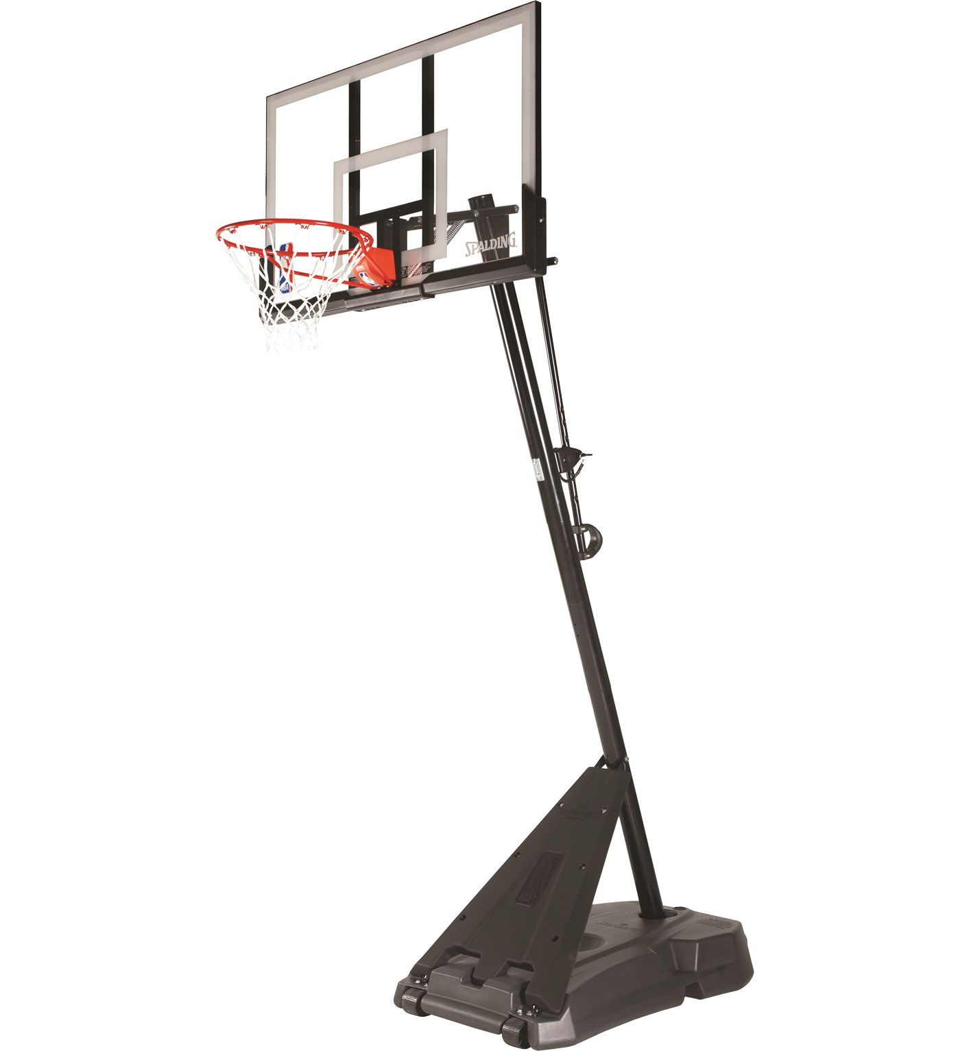 "Spalding Hercules 54"" Acrylic Portable Basketball Hoop"