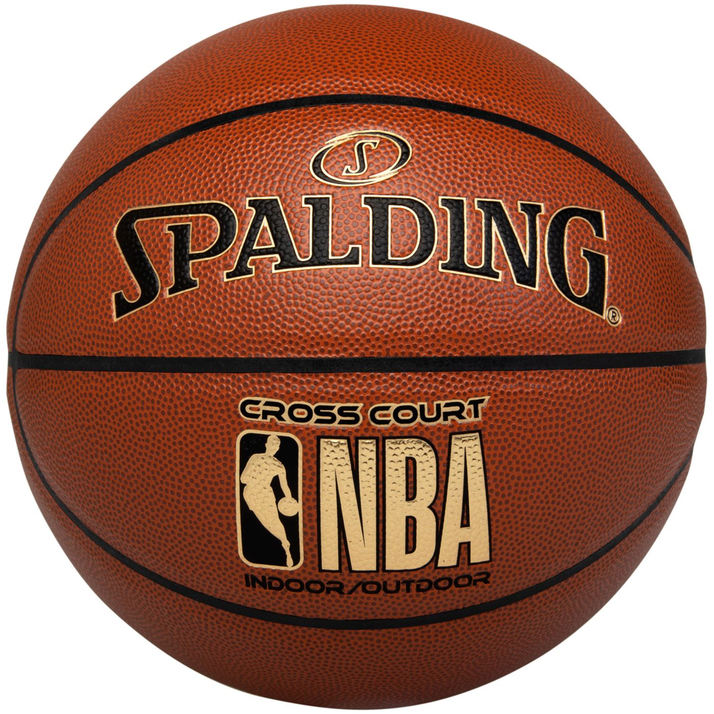"""Spalding NBA Cross Court Official Basketball (29.5"""")"""