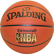 "Spalding Hexagrip Neverflat Composite Official Basketball (29.5"")"