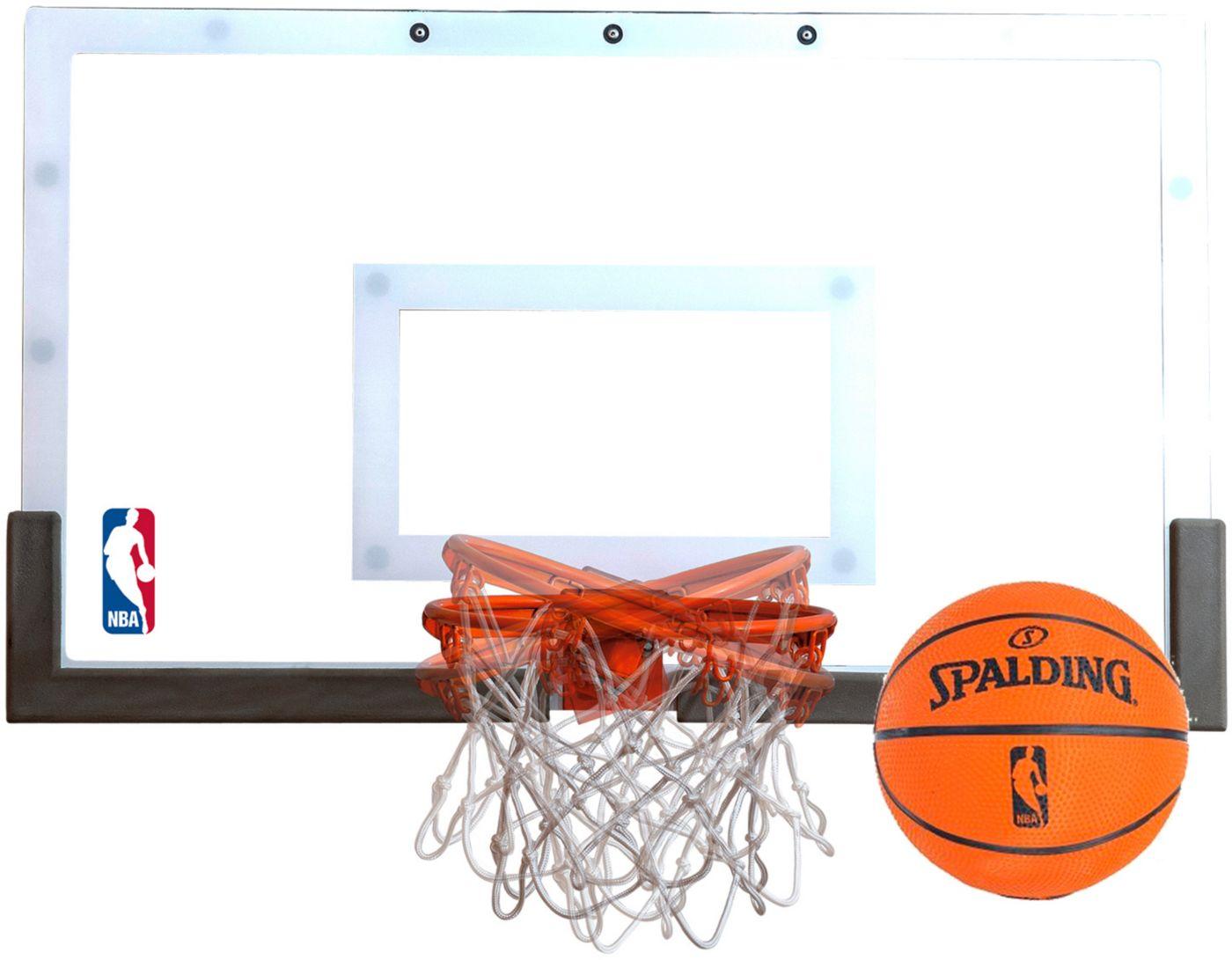 Spalding NBA 180° Breakaway Mini Basketball Hoop Set