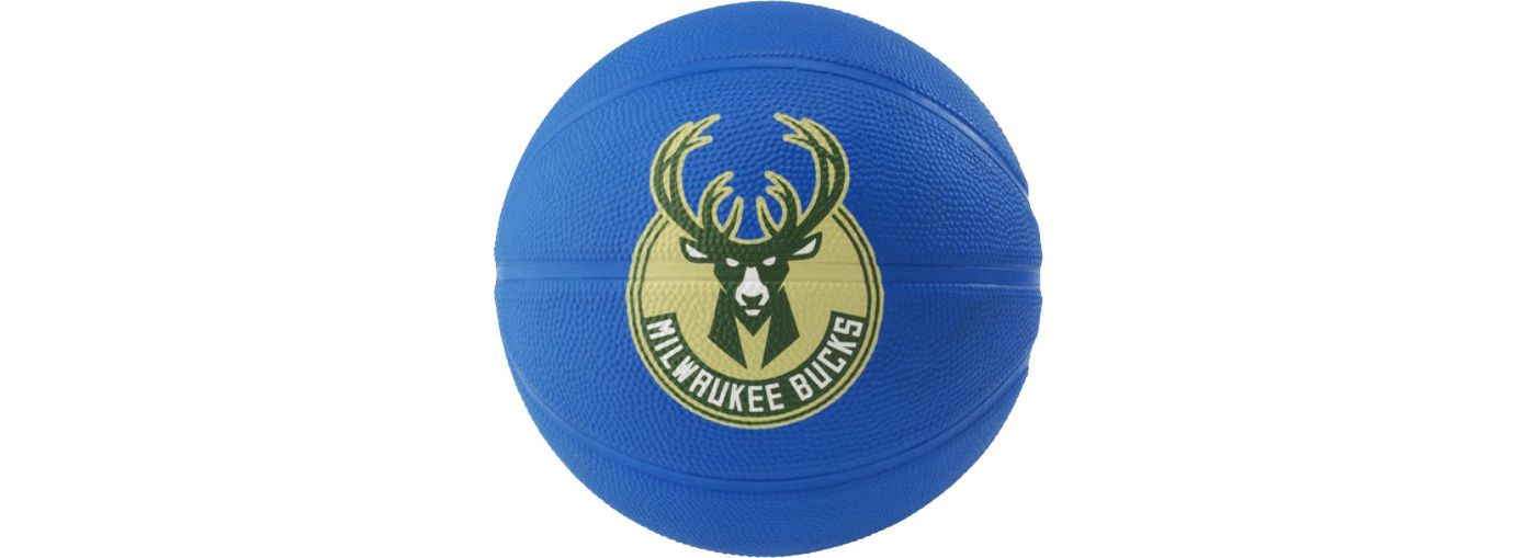 Spalding Milwaukee Bucks Mini Basketball