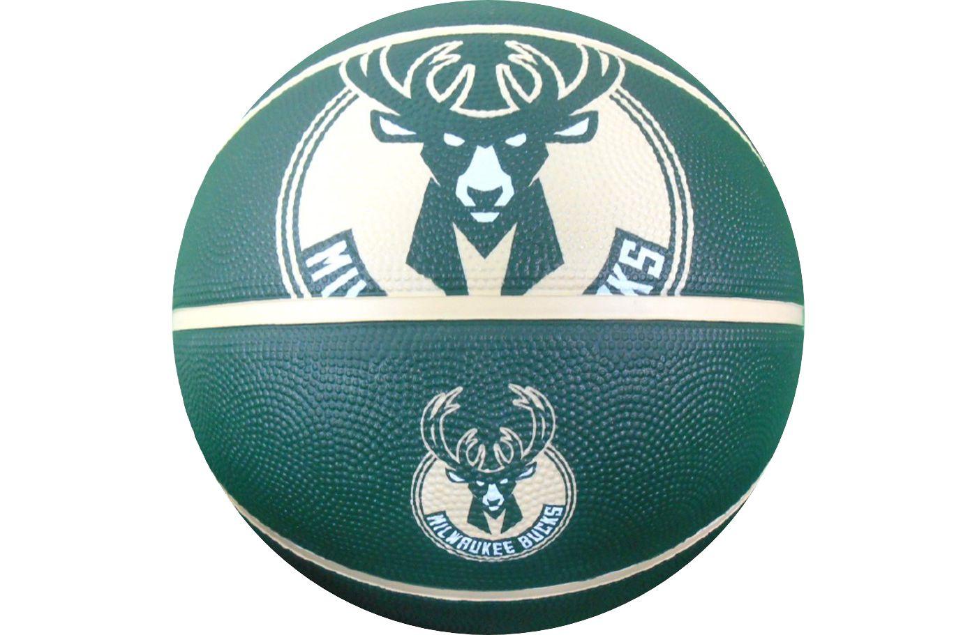 Spalding Milwaukee Bucks Full-Size Basketball