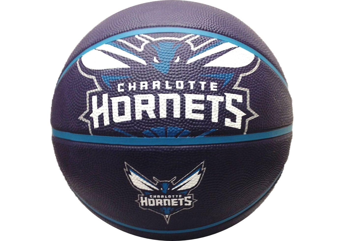 Spalding Charlotte Hornets Full-Sized Court Side Team Basketball